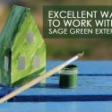 4 Excellent Ways to Work with a Sage Green Exterior